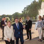 M 100 Sanssouci Colloquium 2016 with Angela Merkel