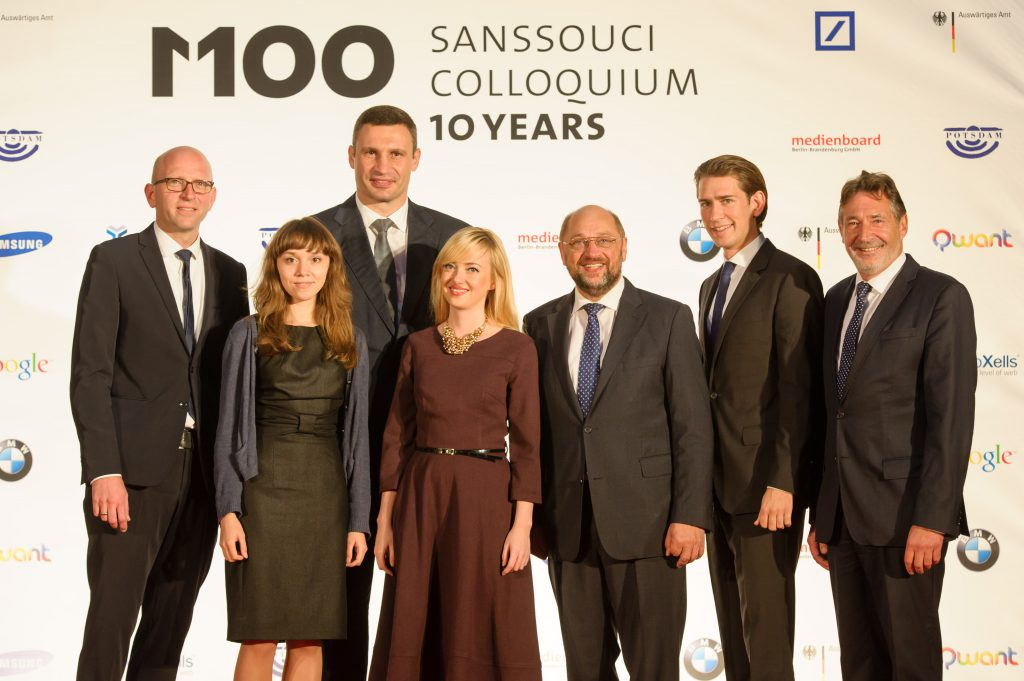 M100 Media Award 2014 to Vitali Klitschko and YanukovychLeaks