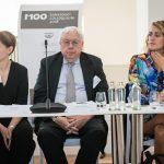 M100 Sanssouci Colloquium 2018 with Flavia Kleiner, John Kornblum and Liz Corbin