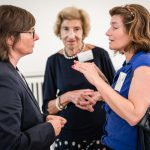 M100 Sanssouci Colloquium 2018 with Natalie Nougayrède, Hella Pick and Tina Kulow
