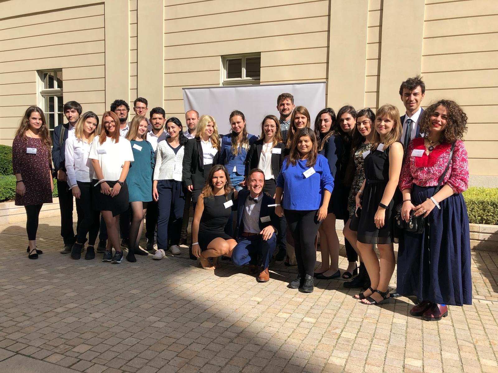 M100 Young European Journalists at the M100 Sanssouci Colloquium 2018