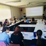 """Workshop with Marius Hasenheit at the M100YEJ 2018 on """"Social Campaigning"""""""