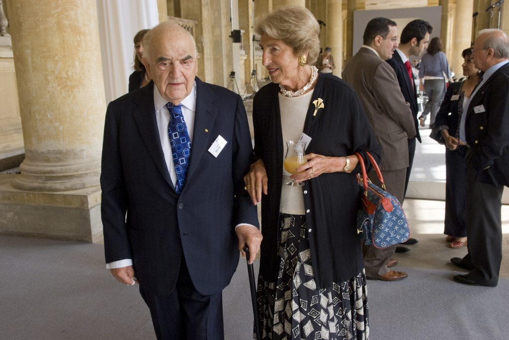M100 Sanssouci Colloquium 2007 with Hella Pick and Lord Weidenfeld