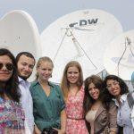 A study visit to DW for the M100 YEJ Workshop participants