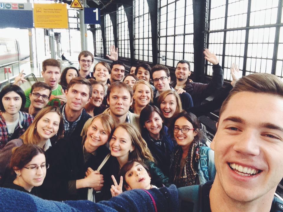 A city tour for the participants of the 2014 M100 YEJ Workshop