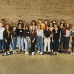 Group photo during the M100 Young European Journalists Workshop 2019