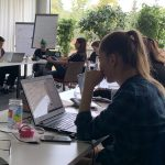 "Workshop on ""Digital Rights"" at the M100 Young European Journalists Workshop 2019 with Olga Grygorovska"