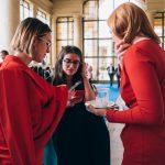 M100 Sanssouci Colloquium 2019 with the participants of the M100 Young European Journalists