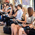 Unsere Nachwuchsjournalisten und Teilnehmer des M100 YEJ 2016 am Sanssouci Colloquium