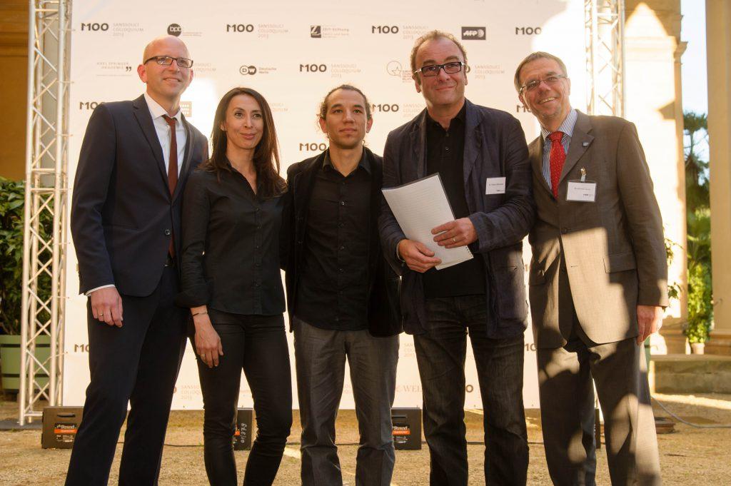 M100 Media Award 2013 an Erdem Gündüz