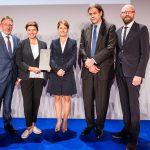 M100 Sanssouci Colloquium2017 mit Jann Jakobs, Natalja Sindejewa, Tanit Koch, Walter Johannes Lindner, Moritz van Dülmen