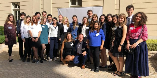 M100 Young European Journalists Workshop 2018 beim M100 Sanssouci Colloquium 2018