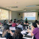 Workshop beim M100YEJ 2018 mit Judith Ackermann: Journalismus und politische Bildung im Social Web beim M100YEJ 2018