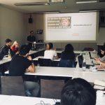 Workshop beim M100YEJ 2018 mit Fiete Stegers: Verifikation von Social Media Inhalten beim M100YEJ 2018