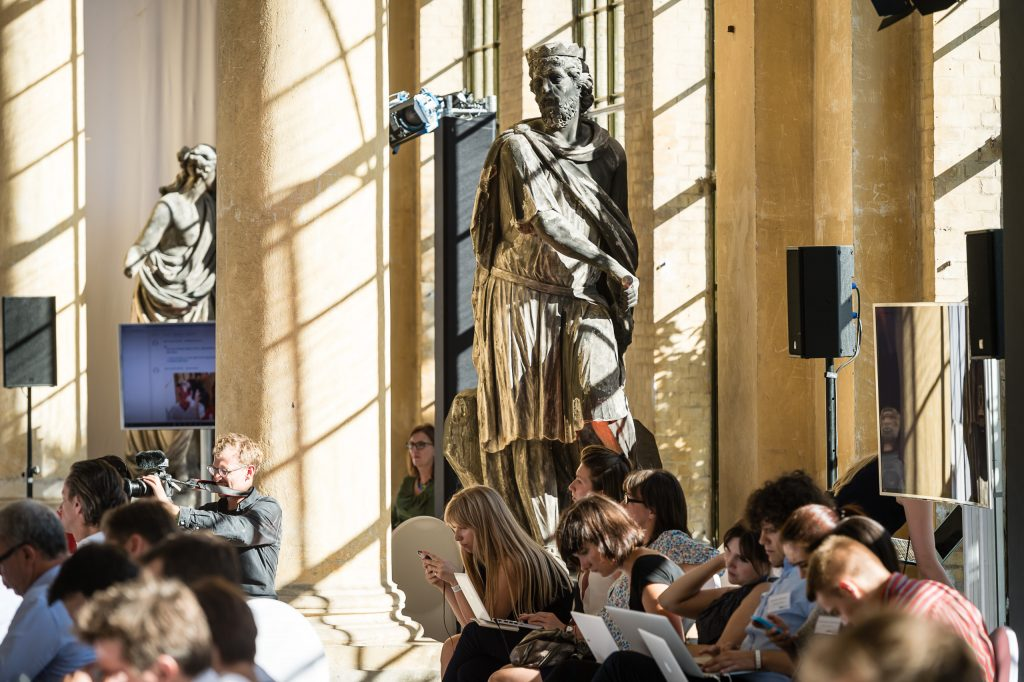 M100 Young European Journalists beim Colloquium 2015