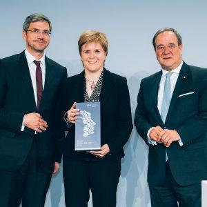 Preisverleihung des M100 Media Award 2019 an Nicola Sturgeon