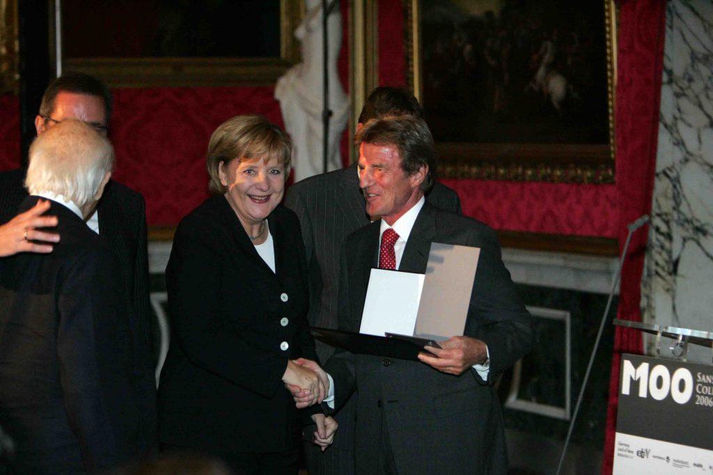 Angela Merkel beim M100 Sanssouci Colloquium 2006