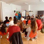 M100 Young European Journalists Workshop 2019 mit Dr. Alexandra Borchardt