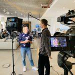 Interviews beim M100 Young European Journalists Workshop 2019