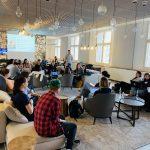 "M100 Young European Journalists Workshop 2019 zum Thema ""Journalism from the Business Perspective"" mit Cornelius Rahn"
