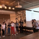 M100 Young European Journalists Workshop 2019: Die jungen Journalisten stellen ihre Konzepte für die M100 Social Media Aktivitäten vor