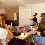 M100 Young European Journalists Workshop 2019 mit Dominique Roch