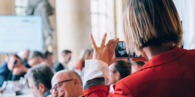 Die M100YEJs beim M100 Sanssouci Colloquium 2019